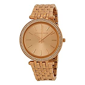 Michael Kors Watches Darci Watch (Rose Gold)