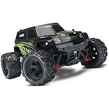 Traxxas Latrax Teton: 1/18 Scale 4wd Electric Monster Truck with TQ 2.4 GHz Radio System, Green