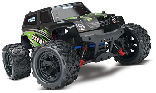 Traxxas Latrax Teton: 1 18 Scale 4wd Electric Monster Truck with TQ 2.4 GHz Radio System - Green