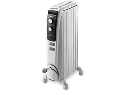 DELONGHI Dragon TRD40-0615 - Radiador de Aceite, 1500 W, Color Blanco (