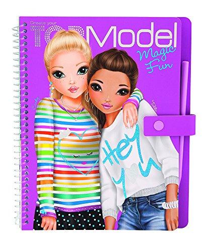 Vente expdition top model magic livre de coloriage damusement avec des autocollants 7941 new - Top model livre de dessin ...
