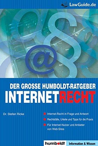 Der große Humboldt-Ratgeber Internetrecht