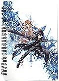Great Eastern Entertainment Sword Art Online Kirito & Asuna Spiral Notebook