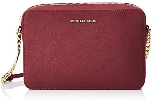 MICHAEL Michael Kors Jet Set Large Saffiano Leather Crossbody by Michael Kors