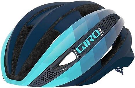 Giro Synthe MIPS Casco de Ciclismo Road, Gris y Amarillo Mate, M ...