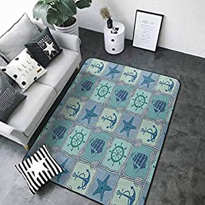 51WRLA6X3OL._SS300_ Starfish Area Rugs For Sale