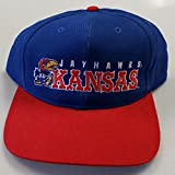 NEW! University of Kansas Embroidered Adjustable Buckle Back Cap