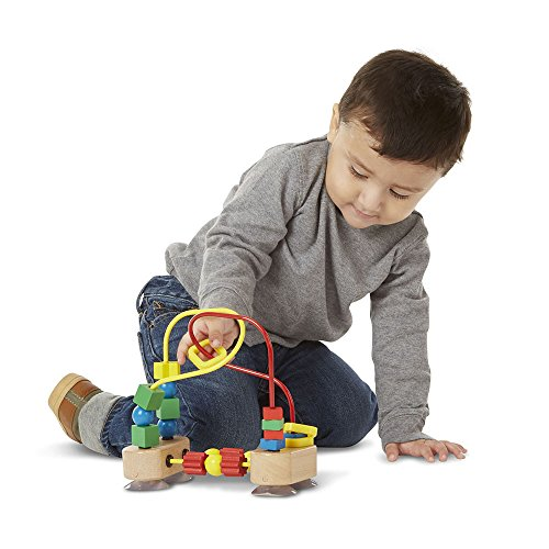 Melissa & Doug First Bead Maze - Wooden Educational Toy by Melissa & Doug (Image #1)