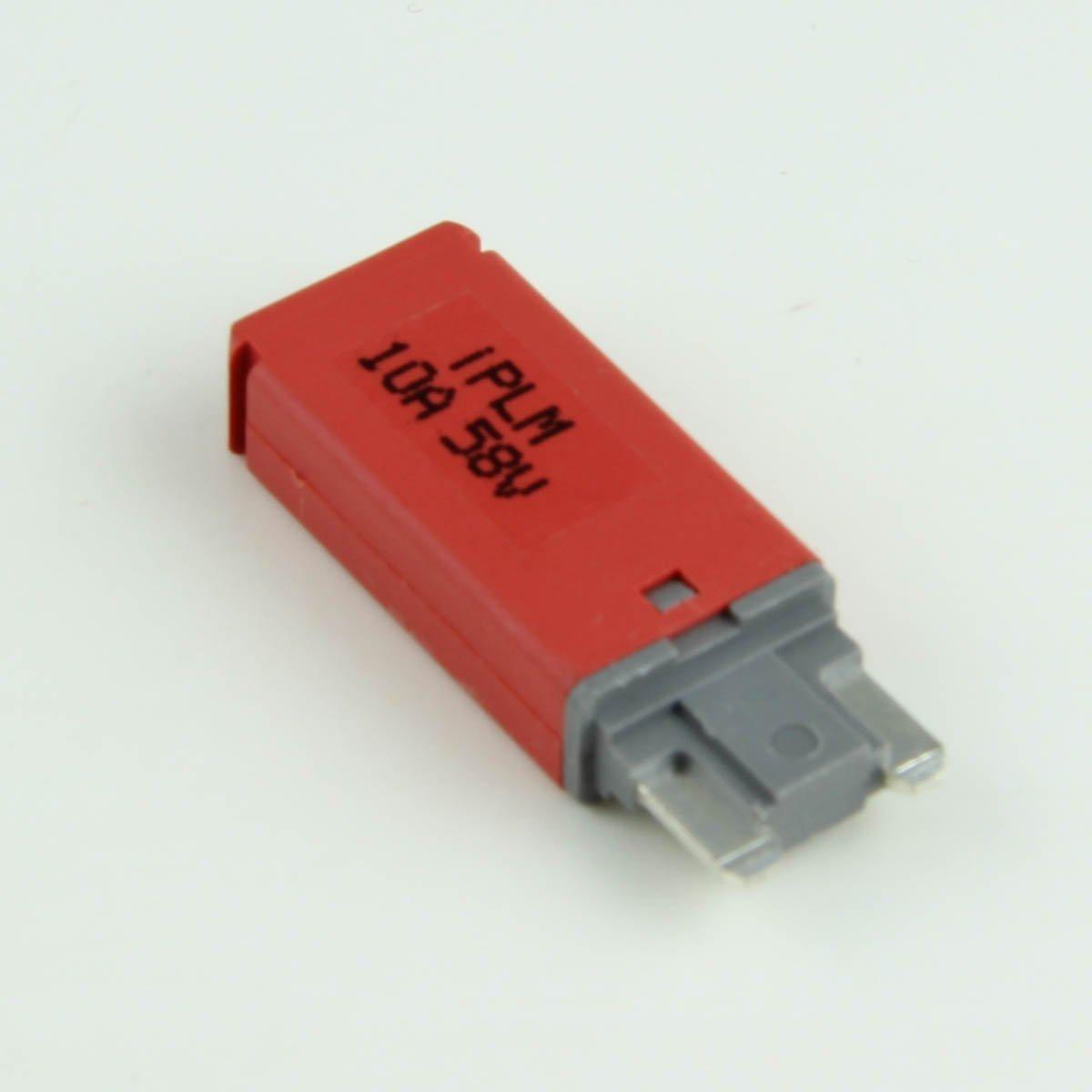 10 Amp Manual-Reset Low-Profile Mini/ATM Blade-Style Circuit Breakers (1 per pack)