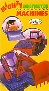 Mighty Construction Machines [VHS]