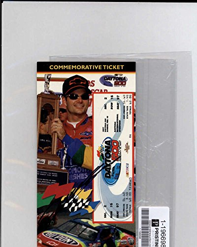 Jeff Gordon Signed Authentic Autograph Daytona 500 Ticket Pristine COA
