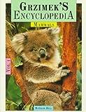 Grzimek's Encyclopedia of Mammals, Bernhard Grzimek, 0079095089