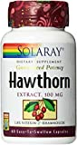 Solaray Hawthorn Extract 100mg, 60 Count For Sale