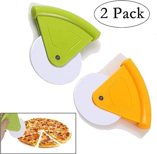 Amazon.com: Neepanda – Cortador de pizza de plástico ...