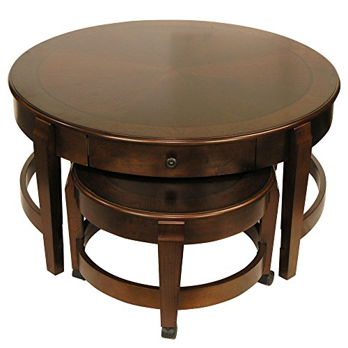 Classic Nesting Coffee Table Set by Fairview Game Rooms