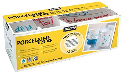 Pebeo Porcelaine Cardboard Assorted 45 Milliliter