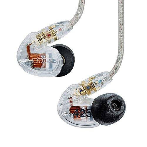 Shure SE425-CL-J Sound Isolating Earphones (International Version)