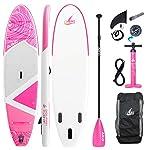 AKD-Dolphin-Tavola-da-Surf-Gonfiabile-11-335x83x15cm-170KG-346L-Pompa-con-Manometro-Pagaia-Sportiva-Regolabile-in-Alluminio-Zaino-E-Guinzaglio