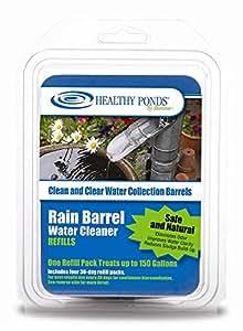 Seguro & Eficaz barril de lluvia Agua Limpiador de recambios–Pack de 4