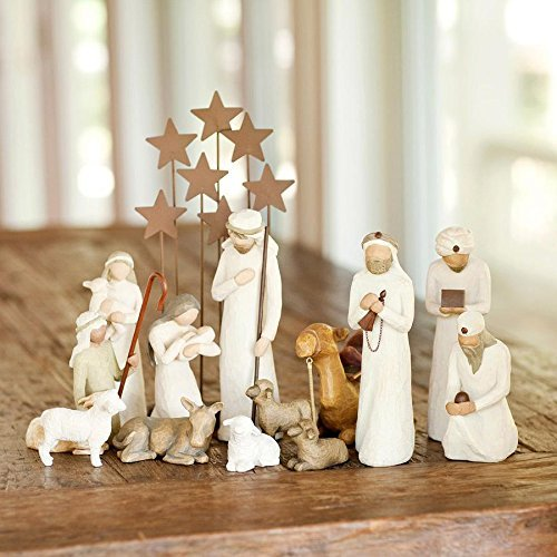 Demdaco Nativity (14 Pc. Willow Tree Nativity Package)