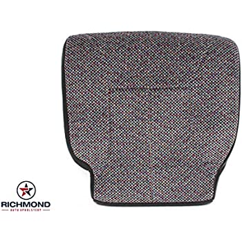 1998 1999 2000 2001 2002 Dodge Ram 2500 Driver Side Bottom Replacement Cloth Seat Cover, Dark Gray