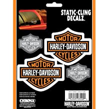 Harley Davidson Static Cling Decal