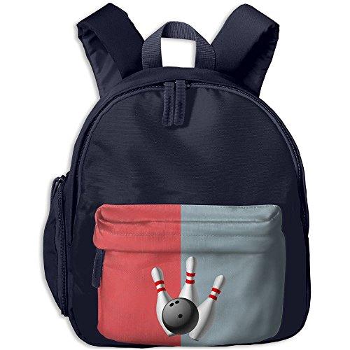 Baby Child Bowling Pre School Bag Backpack Satchel Rucksack Handbag Navy