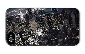 Hipster iPhone 4 case water proof cases new york city tilt shift PC 3D for Apple iPhone 4/4S