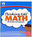 Carson-Dellosa Thinking Kids' Math Jumbo Lacing Beads