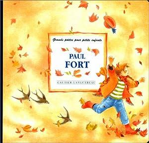 """Afficher """"Paul Fort"""""""