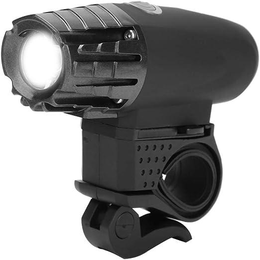 Zerone Lampe Frontale et Feu Arri/ère LED Lumi/ère Lampe Torche avec Feu Arri/ère de V/élo USB Rechargeable Lampe Frontale Puissante avec Batterie 3,7 V 1200 mAh Int/égr/ée 3 Modes de Luminosit/é Etanche