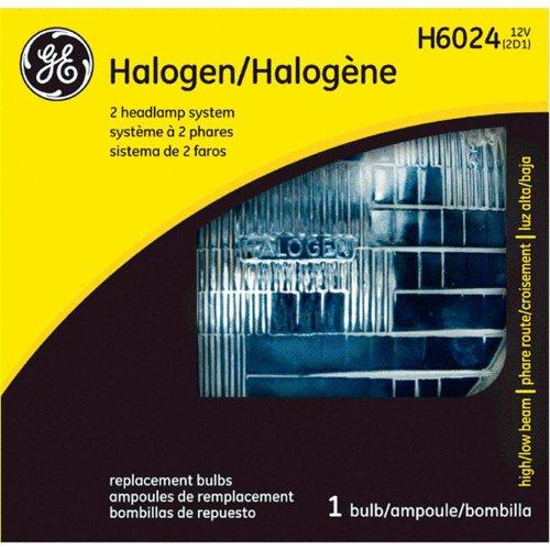 Ge Sealed Beam Headlamp Round Halogen Lamp No. H6024 12 V - Halogen 35v Bulb