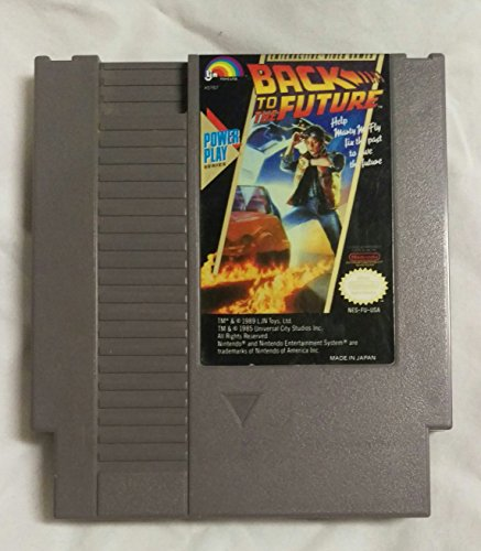 Nintendo Back to the Future Back To The Future Nes Game