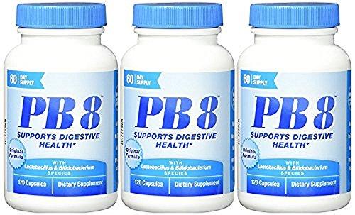 Nutrition Now - PB 8 Probiotic Acidophilus - 120 Capsules (3-Pack) (Probiotics 120 Capsules)