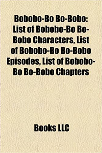 Bobobo Bo Bo Bobo List Of Bobobo Bo Bo Bobo Characters List Of