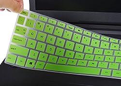 """Keyboard Cover For Hp 15.6 Touchscreen Laptop 15-bs020wm, 2018 Flagship Hp Pavilion 15.6"""", Hp Envy X360 15m-bp111dx 15m-bq021dx, Hp 15-cb 15-cc 15-cd 15-ch 15-bw 15-bs, 17.3"""" Hp Envy 17m 17-bs, Green"""