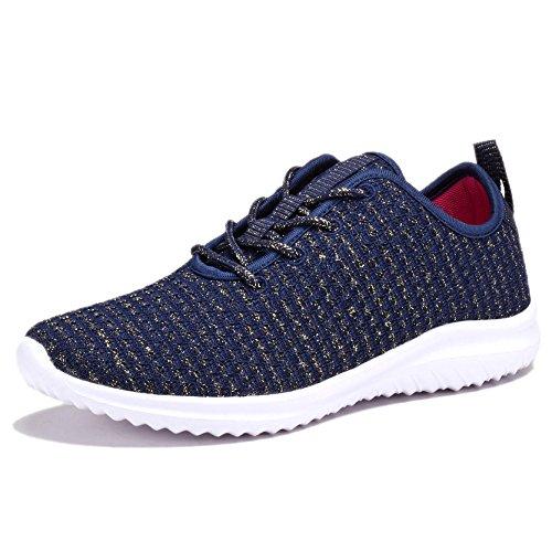 Coodo Sneakers Da Donna Leggere Scarpe Da Passeggio Sportive Da Corsa Casual 6-navy