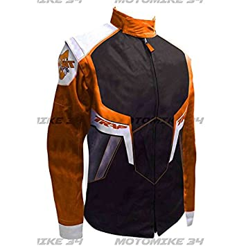 Chaqueta para hombre Enduro Cross Trap naranja - M: Amazon ...