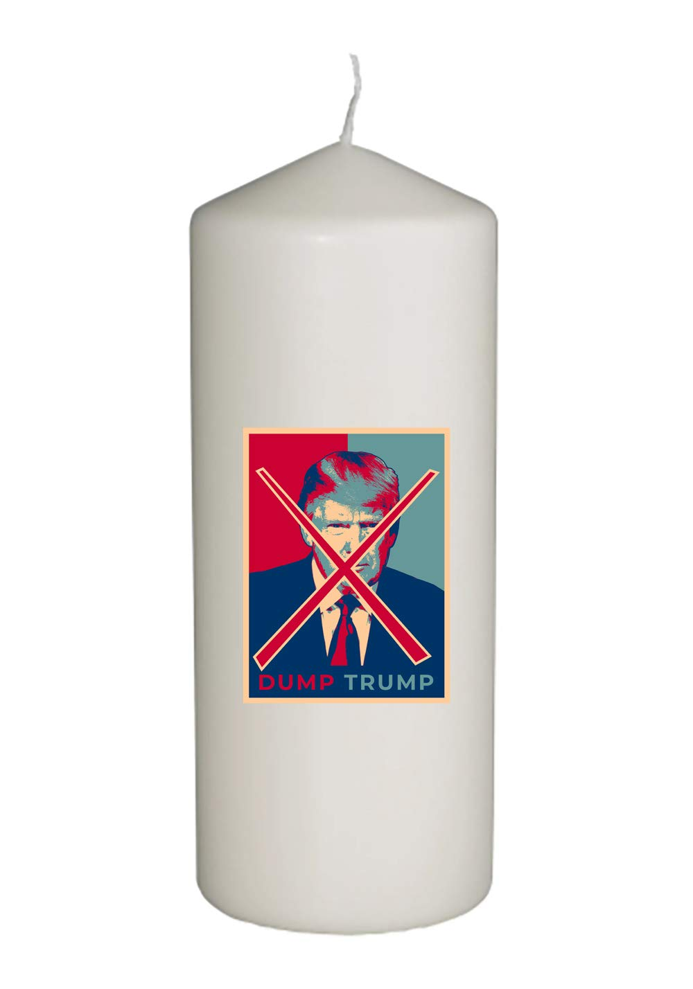 Thick White in Full Color Unity Candle Hat Shark United States USA President Dump Donald Trump Election Voting 2020 Party White House Candidates