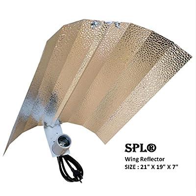 SPL Horticulture Grow Light HPS MH System for Plants Gull Vertical Umbrella Reflector