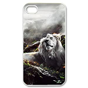 Jungle Lion IPhone 4/4s Cases, Vety {White}