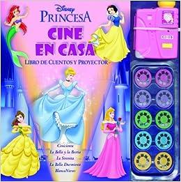 Princesas / Princesses: Cine En Casa. Libro De Cuentos Y Proyector ...