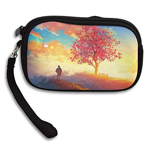 Colorful Sunrise Purse Bag Small Deluxe Portable Printing Sky Receiving ddqawRr