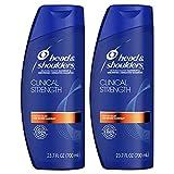Head & Shoulders, Shampoo, Anti Dandruff, Clinical Strength Seborrheic Dermatitis Treatment, 23.7 Fl Oz, Pack of 2