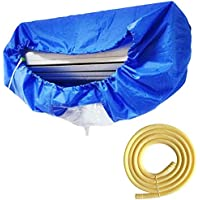 Air Conditioning Cover Washing Wall Mounted Air Conditioner Cleaning Protective Dust Cover Clean Tool Tightening Belt…