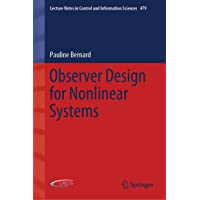 Observer Design for Nonlinear Systems: 479