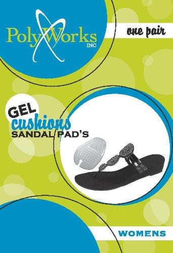 Amazon.com: Womens Soft Touch Gel Peel & Stick Sandal Pads ...