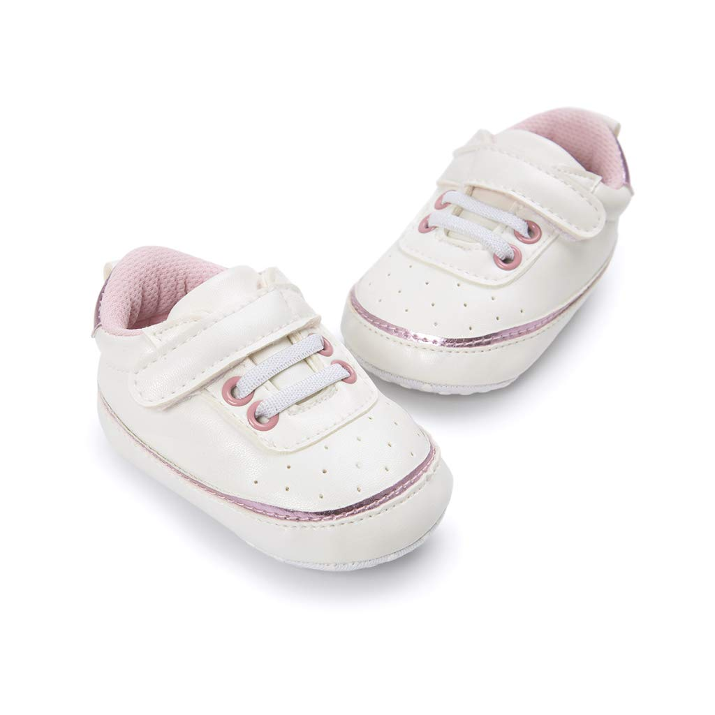 de892ebc38410 Amazon.com : LooBooShop Emmababy Adorable Sneakers Newborn Baby Crib ...