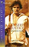 img - for Desert Justice (Silhouette Intimate Moments) book / textbook / text book