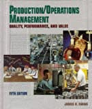 img - for Production & Operations Management : Quality, Performance, and Value book / textbook / text book